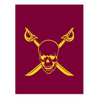 Cartão Postal Símbolo do pirata