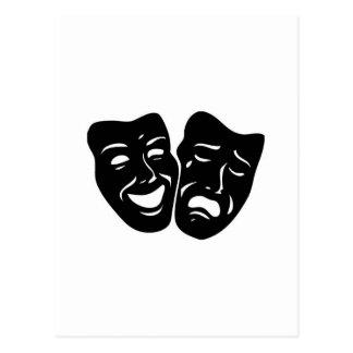 Cartão Postal Símbolo do teatro