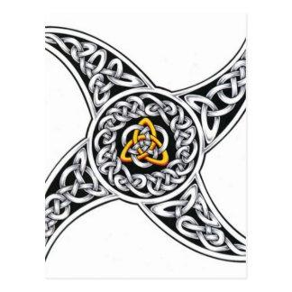 Cartão Postal símbolo dos céltico-guerreiros