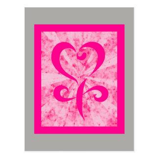 Cartão Postal Símbolo fêmea