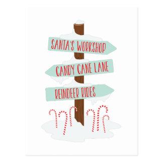 Cartão Postal Sinais do Pólo Norte