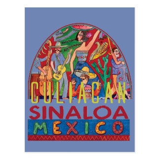 Cartão Postal SINALOA México