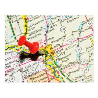 Cartão Postal Sioux City, Iowa
