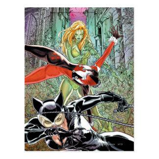 Cartão Postal Sirenes Cv11 da cidade de Gotham