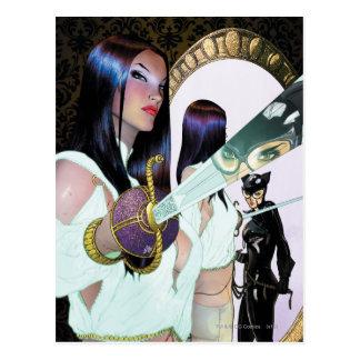 Cartão Postal Sirenes Cv16 da cidade de Gotham