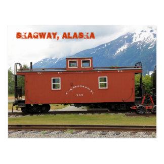 Cartão Postal Skagway, Alaska