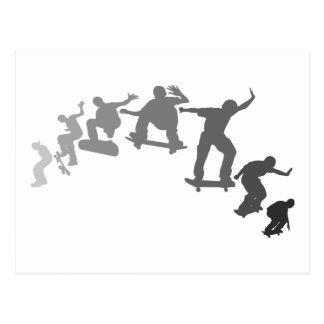 Cartão Postal Skateboarding