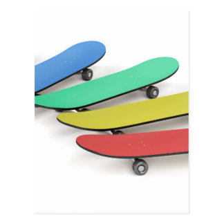 Cartão Postal Skates
