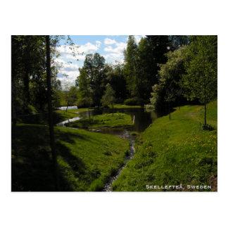 Cartão Postal Skelleftea, suecia