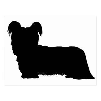 Cartão Postal Skye Terrier (preto)