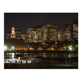 Cartão Postal Skyline 6 de Boston, Massachusetts