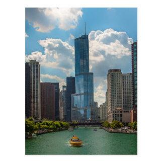 Cartão Postal Skyline Chicago