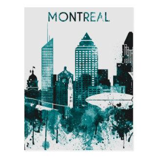 Cartão Postal Skyline da cidade de Montreal