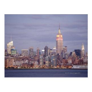 Cartão Postal Skyline da Nova Iorque