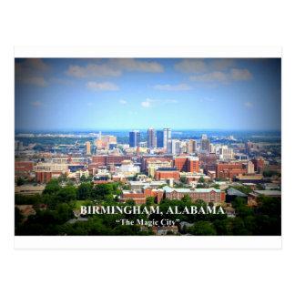 Cartão Postal Skyline de Birmingham, Alabama
