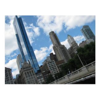 Cartão Postal Skyline de Chicago