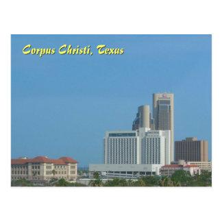 Cartão Postal Skyline de Corpus Christi