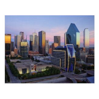 Cartão Postal Skyline de Dallas