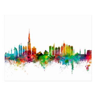 Cartão Postal Skyline de Dubai