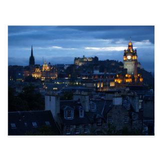 Cartão Postal Skyline de Edimburgo