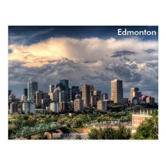 Cartão Postal Skyline de Edmonton, Canadá