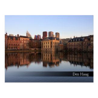 Cartão Postal Skyline de Haia nos Países Baixos
