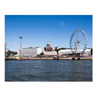Cartão Postal Skyline de Helsínquia