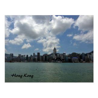 Cartão Postal Skyline de Hong Kong