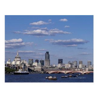 Cartão Postal Skyline de Londres