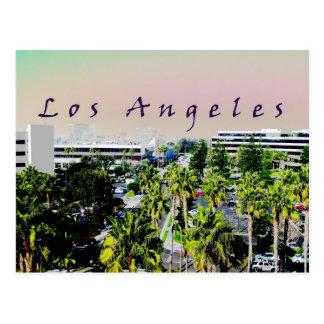 Cartão Postal Skyline de Los Angeles