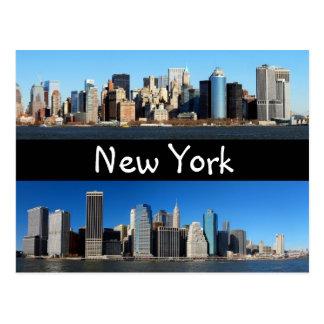 Cartão Postal Skyline de Manhattan, New York