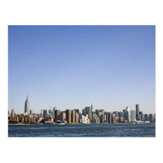 Cartão Postal Skyline de Manhattan, Nova Iorque, NY, EUA