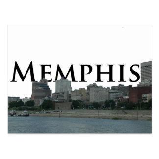 Cartão Postal Skyline de Memphis TN com Memphis o céu