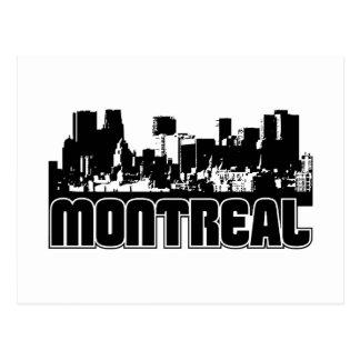 Cartão Postal Skyline de Montreal