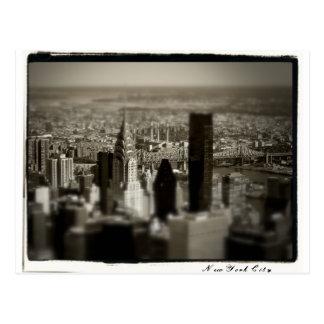 Cartão Postal Skyline de NYC