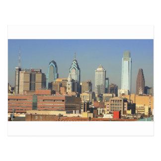 Cartão Postal Skyline de Philadelphfia