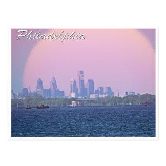 Cartão Postal Skyline de Philadelphfia de Bucks County