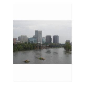 Cartão Postal Skyline de Richmond Virgínia