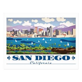 Cartão Postal Skyline de San Diego