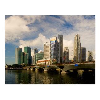 Cartão Postal Skyline de Singapore