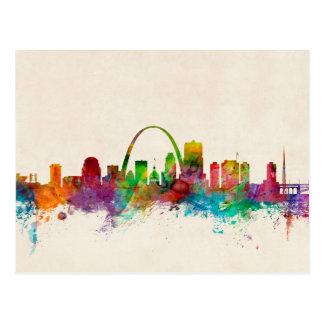 Cartão Postal Skyline de St Louis Missouri