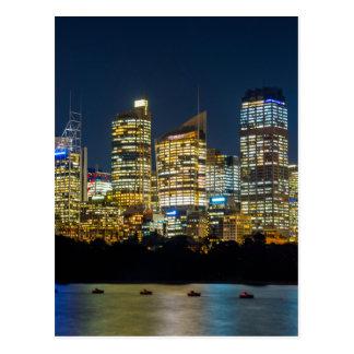 Cartão Postal Skyline de Sydney