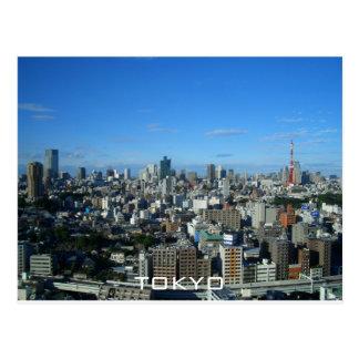Cartão Postal Skyline de Tokyo