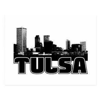 Cartão Postal Skyline de Tulsa