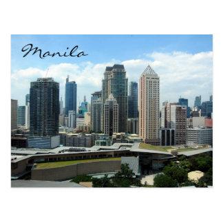 Cartão Postal skyline do makati