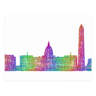 Cartão Postal Skyline do Washington DC