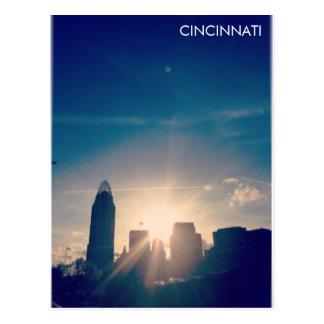 Cartão Postal Skyline V1 de Cincinnati