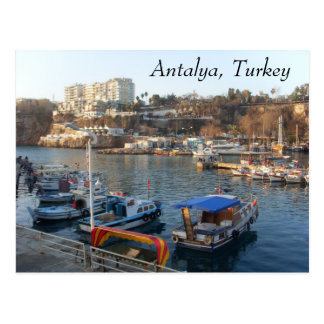 Cartão Postal SL384934, Antalya, Turquia