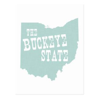 Cartão Postal Slogan da divisa do estado de Ohio