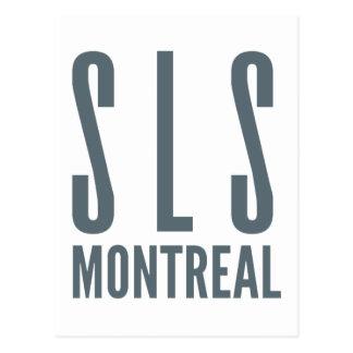 Cartão Postal SLS Montreal